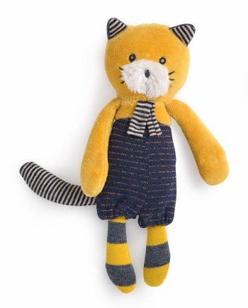 Lulu the Small Yellow Cat by Moulin Roty