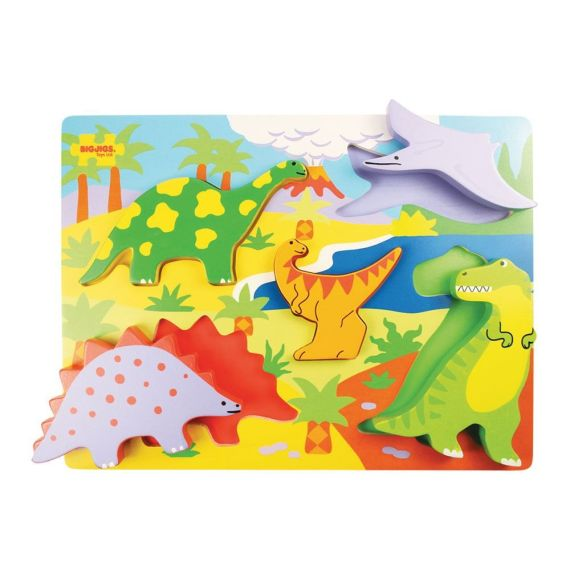 Dinosaurs Lift Out Puzzle