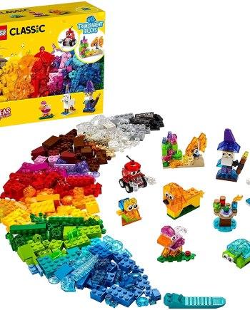 LEGO 11013 Classic Creative Transparent Bricks Set
