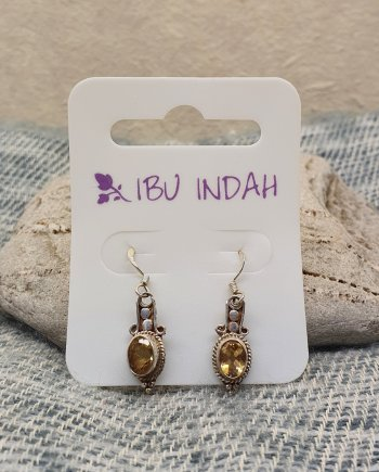 Ibu Indah 207 Silver Earrings