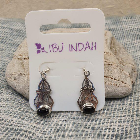 Ibu Indah 217 Silver Earrings