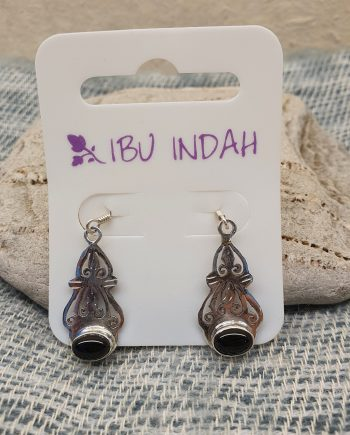 Ibu Indah 217 Silver Earrings