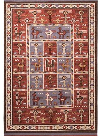 Namaste Birdsong Indian Kilim Rug 120 x 180cm
