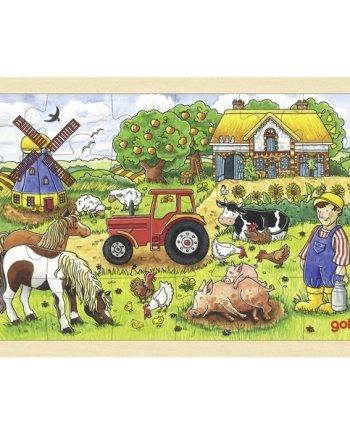 Mr Millers Farm Jigsaw Puzzle
