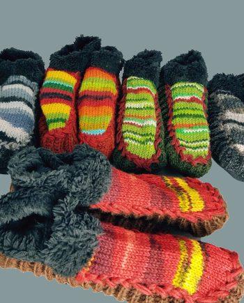 Nepalese Socks & Slippers