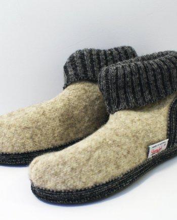 Wesenjak Austrian Slipper Boot - Natural