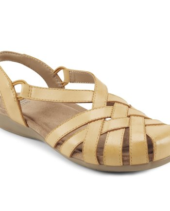 Earth Spirit Berri Moroccan Amber Yellow Sandal