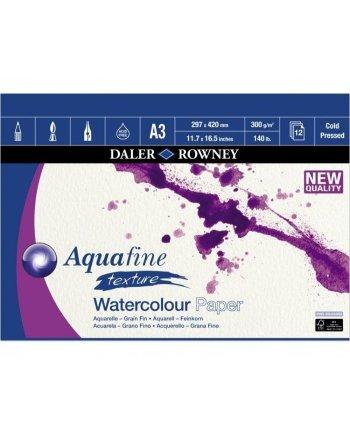 Daler Rowney Aquafine WC Texture A3