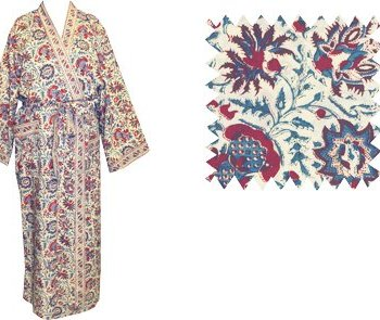 Dressing Gown Kimono Amshul Oyster