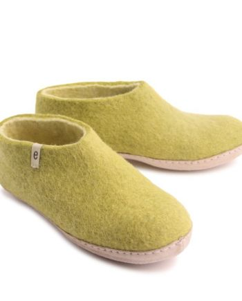 Egos Lime Green Shoe Slipper