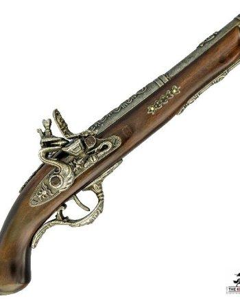 Flintlock Duelling Pistol - 18th Century
