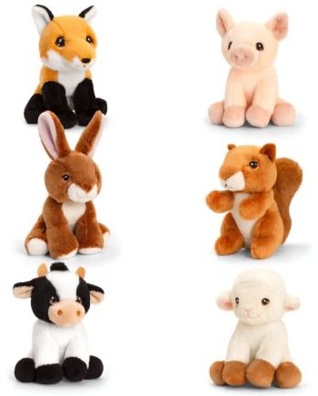 Keeleco Collectables Assorted Farm 12cm