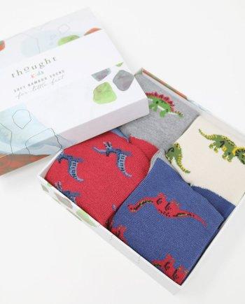 Thought Dinosaur Kids Sock Box