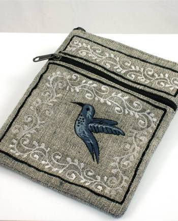 Embroidered Cotton Bag