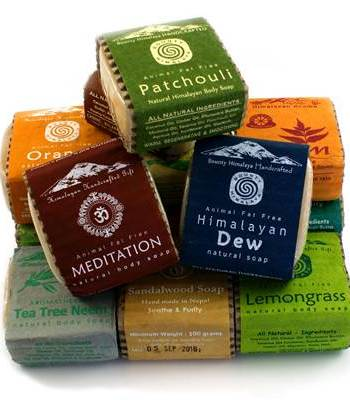 Handmade Himalayan Soap