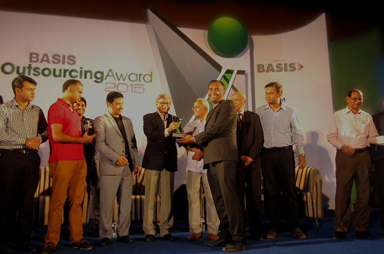 BASIS outsourcing award 2015 won by salah software