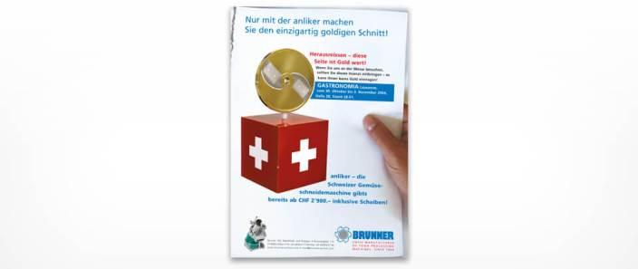 Graphic Design Fachzeitschriften-Anzeige