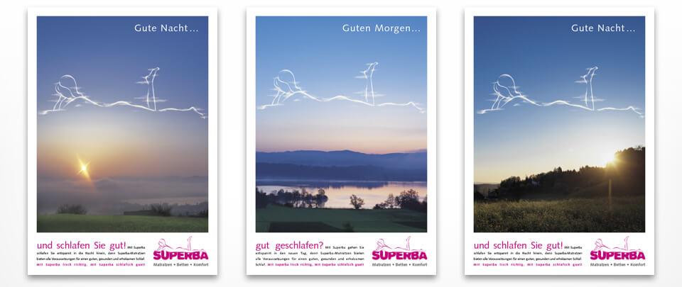 Graphic Design Anzeigen-Kampagne