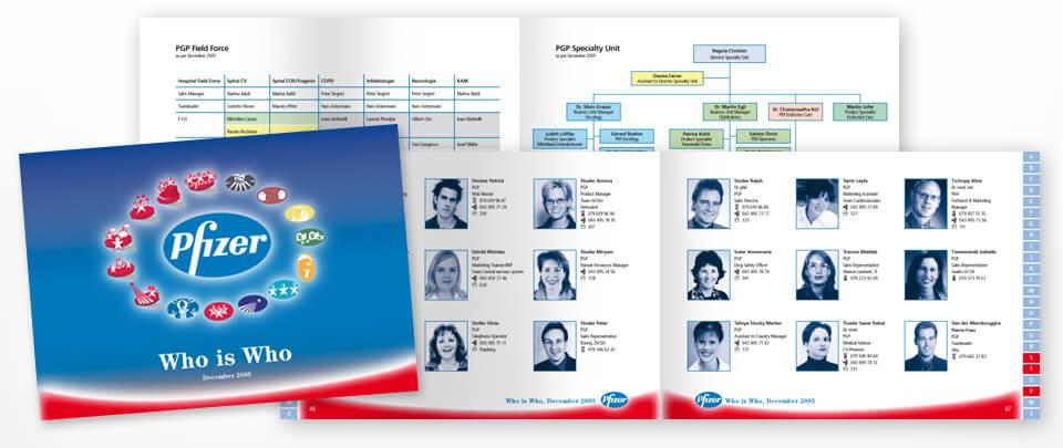 Graphic Design Broschüre