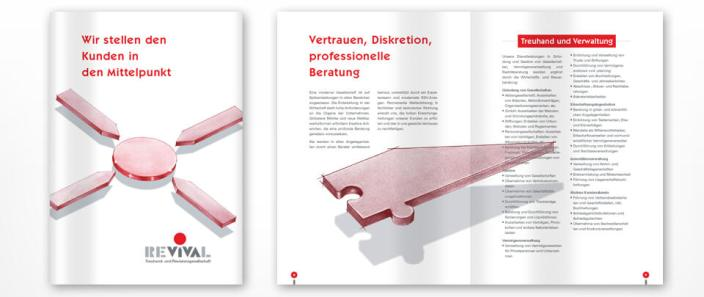 Graphic Design Imagebroschüre
