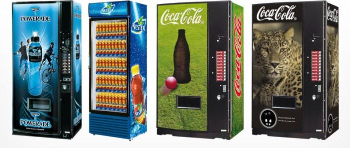 Graphic Design Automaten- und Cooler-look