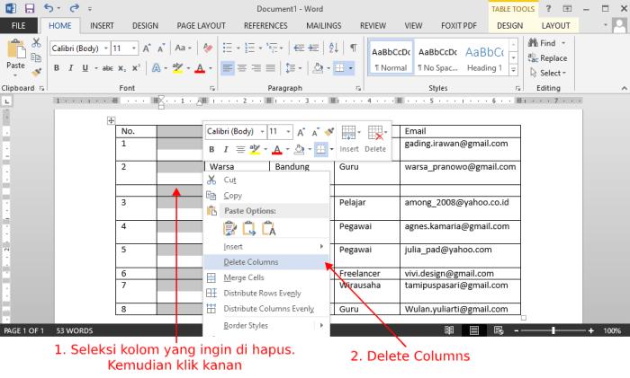 delete-kolom