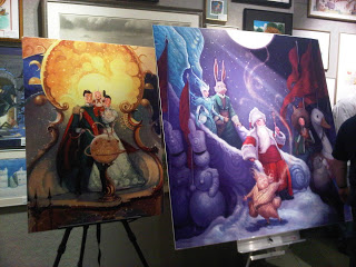 William Joyce Art at Books of Wonder