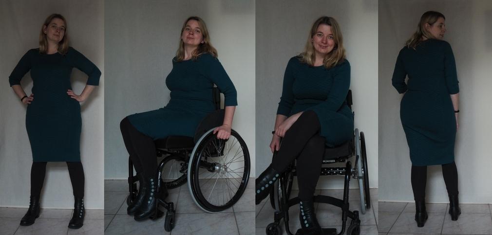 jurk fever rolstoelmode