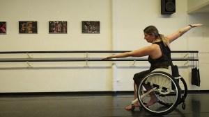 buikdansen met rolstoel