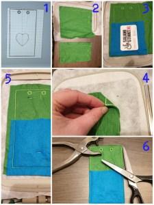 DIY telefoonhoesje borduurmachine