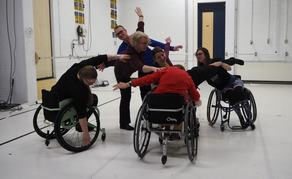 DanceAble Masterclass Connection II workshop inclusiedans