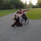 fusion buikdans inclusiedans met rolstoel