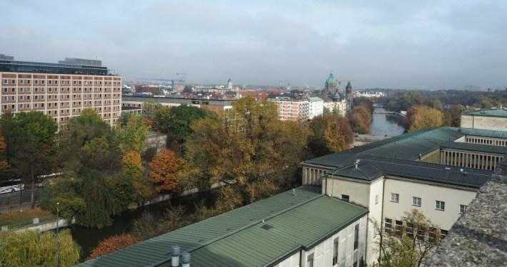 Uitzicht Deutsches Museum Munchen