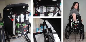 DIY rolstoelzakje