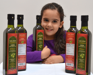 maya-with-olive-oil