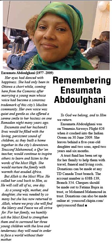 Remembering Ensumata