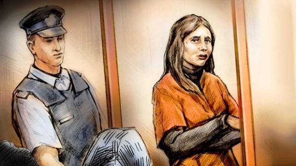 Natalie Berman court illustration