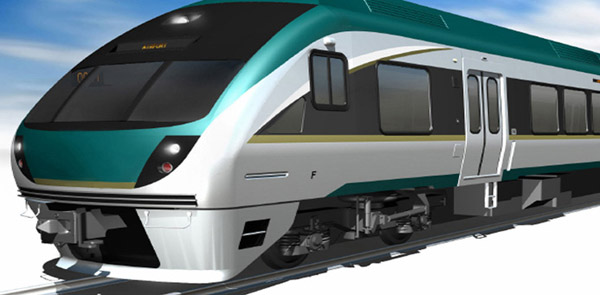 این قطار هوائی دان تاون تورنتو را به فرودگاه بین المللی پیرسون وصل میکند. قرار است قبل از آغاز بازیهای پان آمریکن در سال 2015 این قطار آماده شود