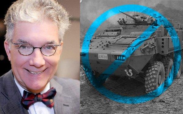 «کارزار» عملیات حقوق بشر خدشه ناپذیر  Armoured Rights Operation    یک دعوای حقوقی به سرپرستی پروفسور تورپ در 21 ماه مارچ در دادگاه فدرال  مطرح کرده است که خواهان توقیف صادرات تسلیحات به عربستان سعودی است