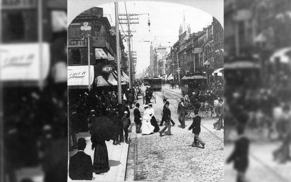 تورنتوی قدیم: خیابان کویین سال 1901