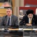 راست: سناتور سارابجیت ماروا: آیا جامعه ایرانی ـ کانادایی از لایحه برقرار کردن تحریم های جدید غیر هسته ای علیه ایران حمایت می کند یا خیر؟  چپ: شهرام گلستانه:  به طور مطلق  حمایت می کند.  اکثریت عظیم کامیونیتی ایرانی ـ کانادایی از برقرار کردن تحریم های جدید از سوی کانادا علیه ایران حمایت می کند!