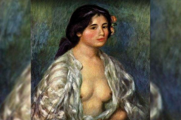 یکی از آثار رنووار نقاش معروف فرانسوی که در گنجینه بی نظیر موزه هنرهای معاصر تهران نگهداری می شود.