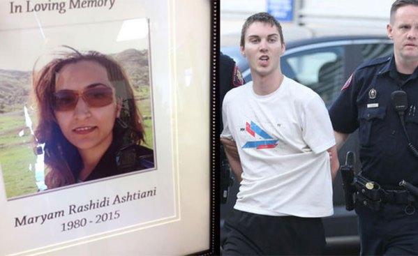 جاشوا کودی متهم به زیر گرفتن و کشتن مریم رشیدی در پمپ بنزین کلگری