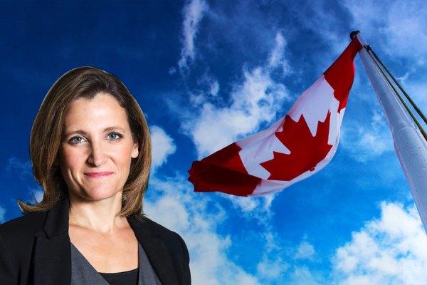 کریستا فریلند وزیر خارجه کانادا