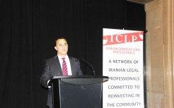 مایکل پارسا نماینده آرورا ـ اوک ریجز ـ ریچموندهیل در مجلس انتاریو از مهمانان ویژه این مراسم بود
