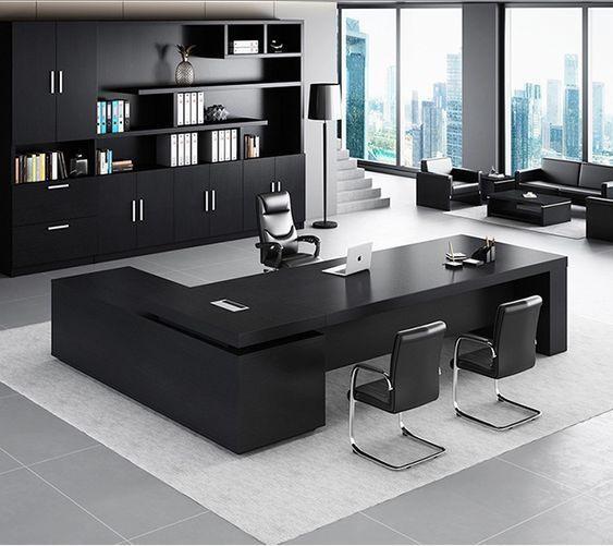 Pedestal Executive Desk