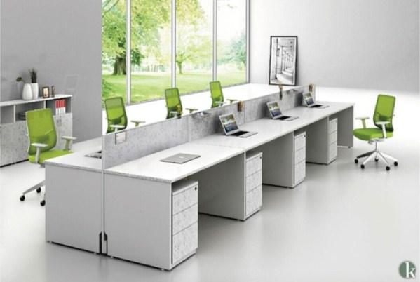 Modern workstation desk