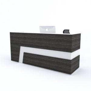 Straight Custom Reception Desk