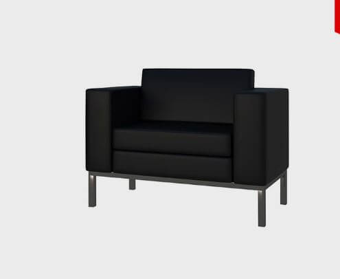 1 Seater Sofa For Office