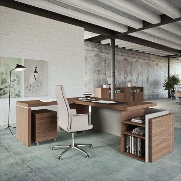 Modern L shape executive Desk